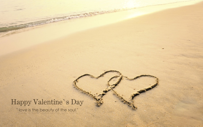 Heart-on-Sand-Happy-Valentines-Day-2014-hd-wallpapers-free-download